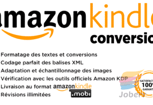 7818Conversion de votre ebook au format Amazon Kindle (.mobi)